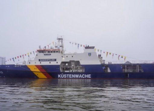 """Einsatzschiff BP 83 """"Bad Düben"""""""