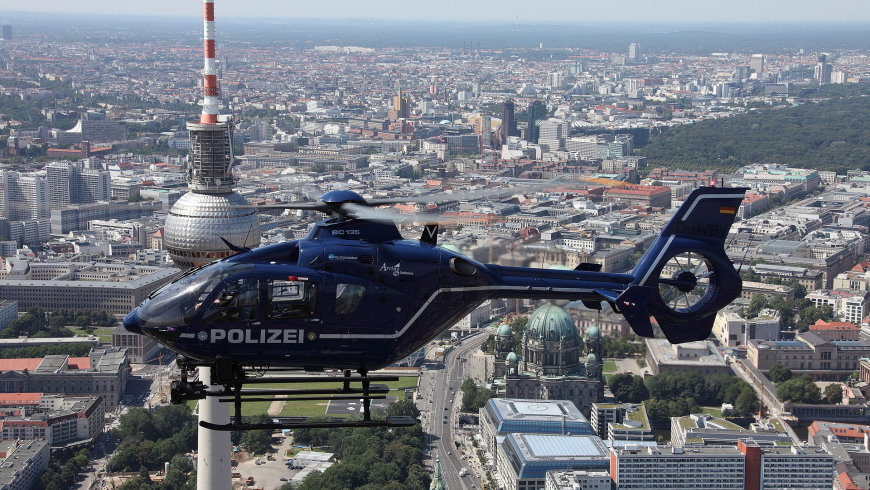 Polizeihubschrauber Eurocopter EC 13