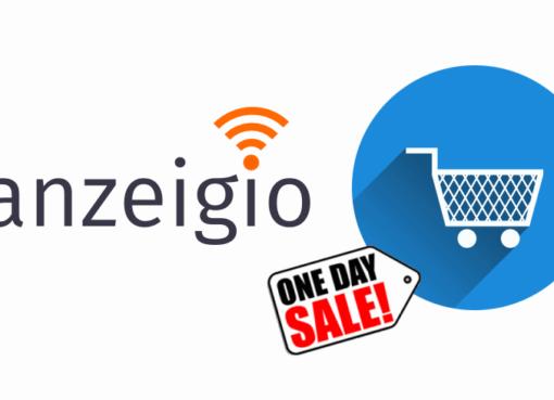 anzeigio ONE-DAY-SALES