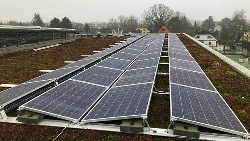 Solaranlage Grundschule im Taunusviertel