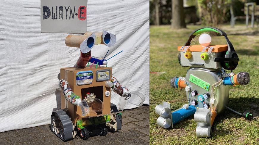 Pandemie-Roboter von Dwayne Schaefer und Collin Meyer - Fotos: Privat