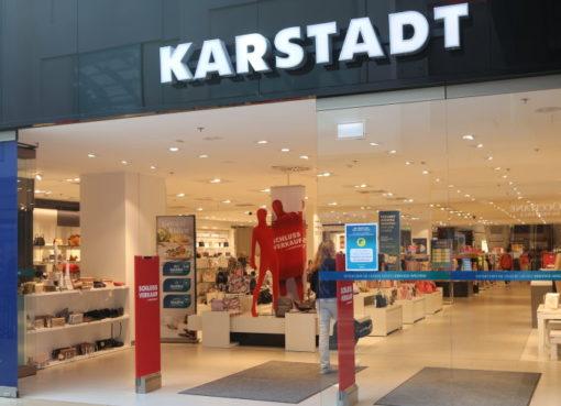 Schlussverkauf bei Karstadt