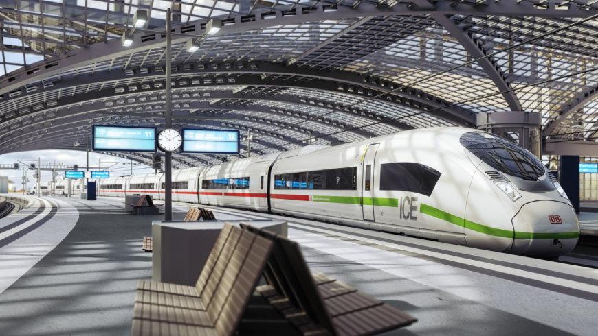 ICE 4 im Berliner Hauptbahnhof
