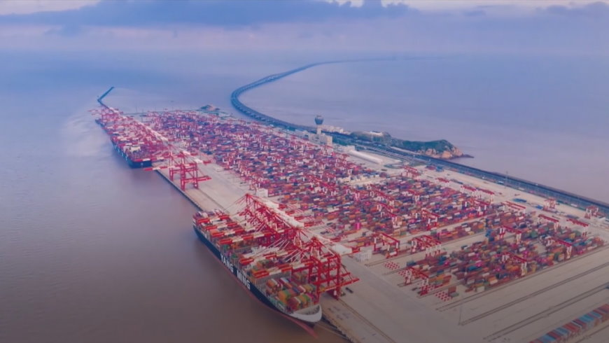 Container-Hafen Yangshan Phase IV