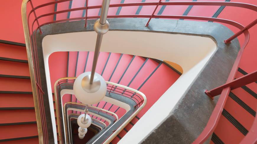 Treppenhaus im Haus des Rundfunks