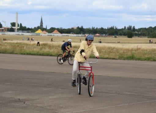 Radfahren Tempelhofer Feld
