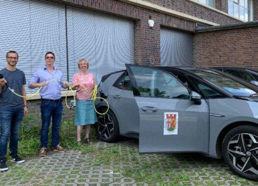 Neue Elektro-Dienstfahrzeuge